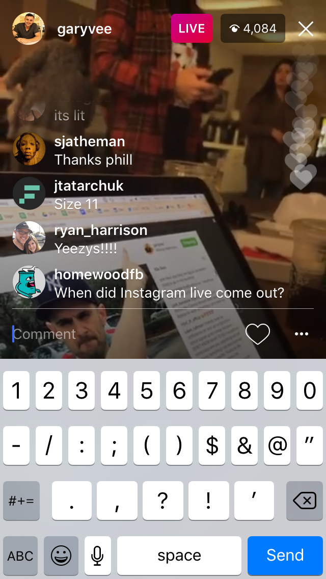 Instagram Live Video is Here!